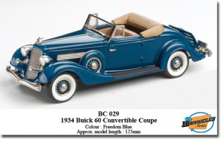 1934 Buick M60 Convertible Coupe