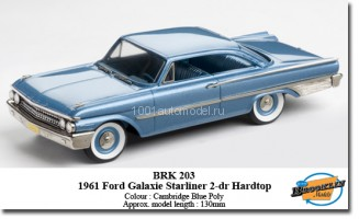 1961 Ford Galaxie Starliner 2-dr Hardtop