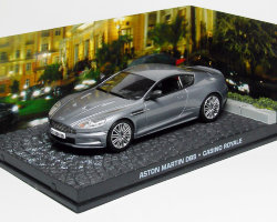 Aston Martin DBS -Casino Royal- 2006 (серия James Bond) (комиссия)