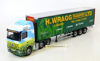Mercedes Actros Eco-Curtainside H.Wragg, Ludlow