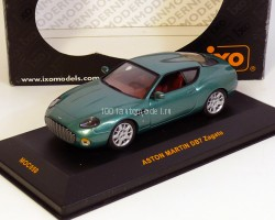 Aston Martin DB7 Zagato British Racing 2001 (комиссия)