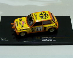 Renault R5 Turbo #47 P.Rouby-A.Giron Rally Monte Carlo 1982