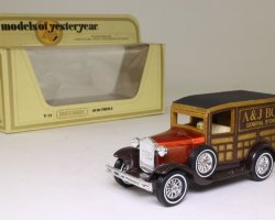 "1930 Ford ""A"" -A&J Box General Stores- (Models of Yesteryear) (комиссия)"