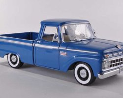 1965 Ford F-100 Custom Cab Pickup BLEU (комиссия)