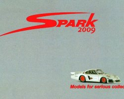 Каталог Spark Models for serious collectors 2009